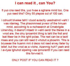 hmmmm are you creative..I AM. Read every word.
