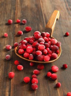Cranberries ~ so versatile for Holiday cooking and decorating.