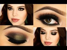 #MayraTouchOfGlam creates a stunning holiday look with the LORAC #PROPalette2.