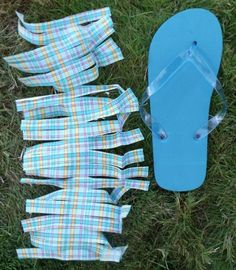 edcff426ac506d fringed flip flops with super easy tutorial. Cheap Flip Flops