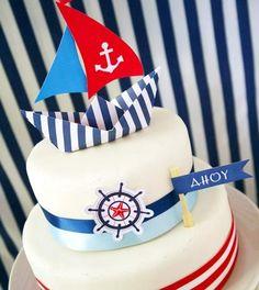 Ideia de bolo para festinha de menino!