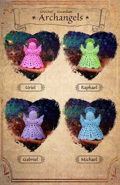Crochet Guardian Archangels