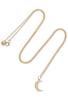 ANDREA FOHRMAN Diamond Jewelry, Gold Jewelry, Jewelry Accessories, Fine Jewelry, Gold Necklace, Pendant Necklace, Jewellery, Jewelry Necklaces, Bling