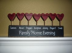 7 person personalized antiqued/distressed Family by craftjunkie28, $34.00