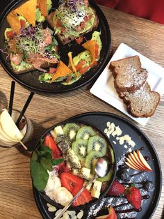 Perfect brunch location in graz, which offers acai bowls, avocado bread and delicious banana bread. Avocado Bread, Brunch Spots, Paella, Acai Bowl, Banana Bread, My Favorite Things, Ethnic Recipes, Bowls, Holidays