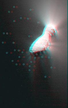 nasa images of the hartley 2