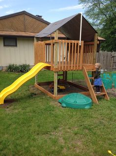 Play Deck/Fort | Do It Yourself Home Projects from Ana White