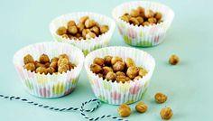 Paahdetut kikherneet - K-ruoka Vegan Recepies, Vegetarian Recipes, Finnish Recipes, Mini Cupcakes, Tapas, Muffin, Baking, Breakfast, Desserts