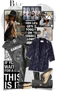 """""""Ahhh that ramones sirt!"""" by teoecar ❤ liked on Polyvore"""