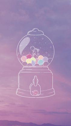 Astronaut Wallpaper Chewing gum machine, bubble gum, planet, sky, in . Glitter Phone Wallpaper, Iphone 7 Plus Wallpaper, Pastel Wallpaper, Tumblr Wallpaper, Computer Wallpaper, Galaxy Wallpaper, Screen Wallpaper, Cool Wallpaper, Wallpaper Backgrounds
