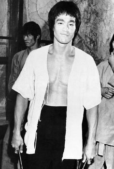 Bruce Lee on training - Enter the Dragon