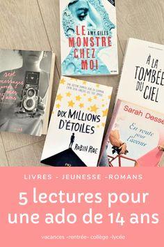 Quel livre choisir pour une ado de 14 ans ? 5 lectures validées par ma fille Lectures, Board, Lost Girl, Philosophy, Planks