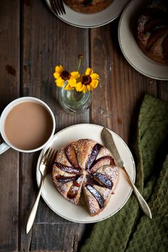 Desserts for Breakfast: Plum, Rosemary, and Brandy Cakes.  This seems like something that would be perfect for a second breakfast party in honor of the Hobbit movies coming out.