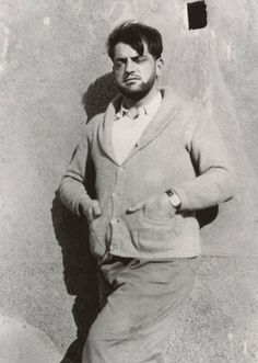 Luis Buñuel, 1930. Photo by Salvador Dalí
