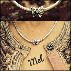 PANDORA Necklace with Bow Charm.. I have this charm... now I just need the necklace
