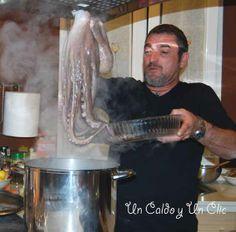 Cocción del pulpo