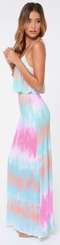 Beachy Tie-Dye Dress