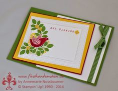 Stampin' Up! by First Hand Emotion: Betsy's Blossoms zur Firmung