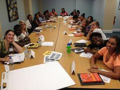"""Delaware class with their own copies of """"Everyone Leads"""". by PublicAllies, via Flickr"""