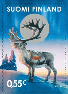 old xmas stamps from Finland