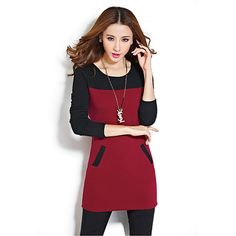 BEFORW Women Dress New Arrival Fashionable High Street Women's Hot Korean Style Casual  Long Sleeve Plus Velvet Thickening Dress-in Dresses from Women's Clothing & Accessories on Aliexpress.com | Alibaba Group