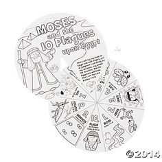 make a 10 plagues wheel