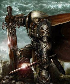 Fantasy Art Kim Young Min Warrior