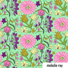#fabricdesign #patterndesign #artlicensing #textiledesign #florals #exoticflowers