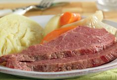 Slow Cooked Corned Beef & Cabbage Recipe - Campbell's Kitchen