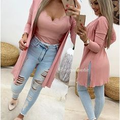 Mode Outfits, Outfits For Teens, Trendy Outfits, Denim Fashion, Look Fashion, Womens Fashion, Indian Fashion Trends, Fall Winter Outfits, Women's Fashion Dresses