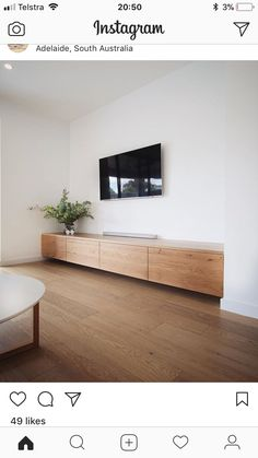Oak Grains flowing from end to end. This was actually one of two entertainment units, custom built in two homes side by side. Room Design, House Interior, Home, Living Room Tv, Interior, Living Room Entertainment, Built In Tv Cabinet, Living Room Remodel, Living Room Designs