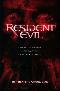 Resident Evil Movie Poster #2 - Internet Movie Poster Awards Gallery