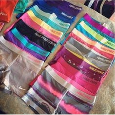 Nike Pro...... Hey mom, this isn't enough I mean like at! This is cheer season not football!