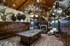 Outfitting Your Trophy Room  #trophyroom #mancave #hunting