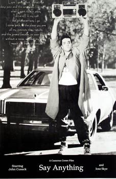 Say Anything, one of my top 3 fave movies from the 80s
