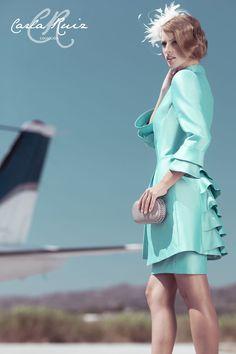 0a379b741 Detalle Vestido de Madrina de Carla Ruiz 2012 - Modelo 86360