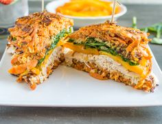 Sweet Potato Turkey Sandwich | Healthy Nibbles and Bits