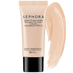 SEPHORA COLLECTION Skin Perfect CC Cream SPF 20  #Sephora #Travel #Travelsize #Vacation