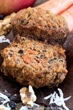 Healthy Muffins, Healthy Sweets, Healthy Baking, Healthy Snacks, Coffee Cake Muffins, Breakfast Muffins, Breakfast Recipes, Bran Muffins, Health Breakfast