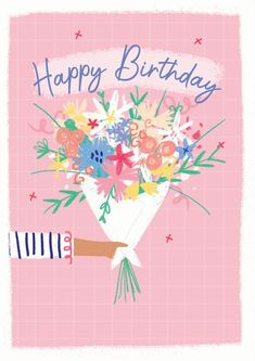 Happy Birthday Art, Unique Birthday Cards, Happy Birthday Greetings, Funny Birthday Cards, Birthday Fun, Birthday Wishes, Birthday Card Online, Birthday Chocolates, Letterbox Gifts