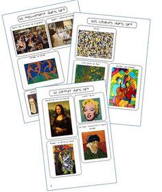 Idées de thèmes et d'oeuvres en arts visuels - La classe de Mallory