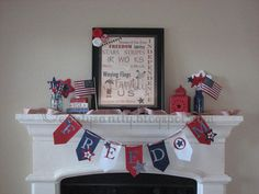 : 8 Red, White & Blue Ideas