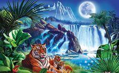 Tiger moon (54 pieces)