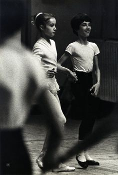 Sylvie Guillem at Paris Opera Ballet School