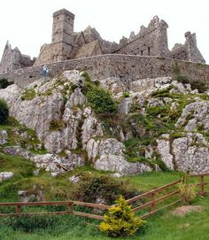 Rock of Cashel, Tipperary, Ireland. This was my favorite castle to visit in Ireland. I was eager to see if it had any relation to my family name which is Cash. It didn't really.