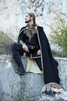 Medieval Fantasy Exclusive Prince Cloak with lining