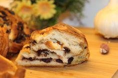Pão de Manteiga, Alho e Azeitonas - Fatia / Butter, Garlic and Olives Bread - Slice