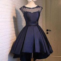 Black Satin Classy Sexy Party Dress,Charming Graduation Dress,Homecoming Dresses,H150