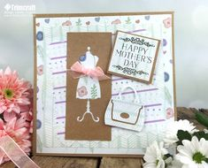 Free Trimcraft Printable Mother's day papers with Craft Tutorials - Trimcraft