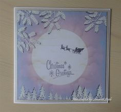 Moonlight Christmas Greetings by SomersetSteph | docrafts.com